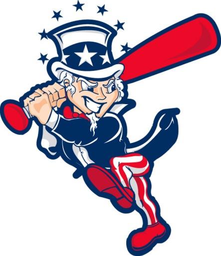 Uncle Sam Yankees Baseball Sports Mascot