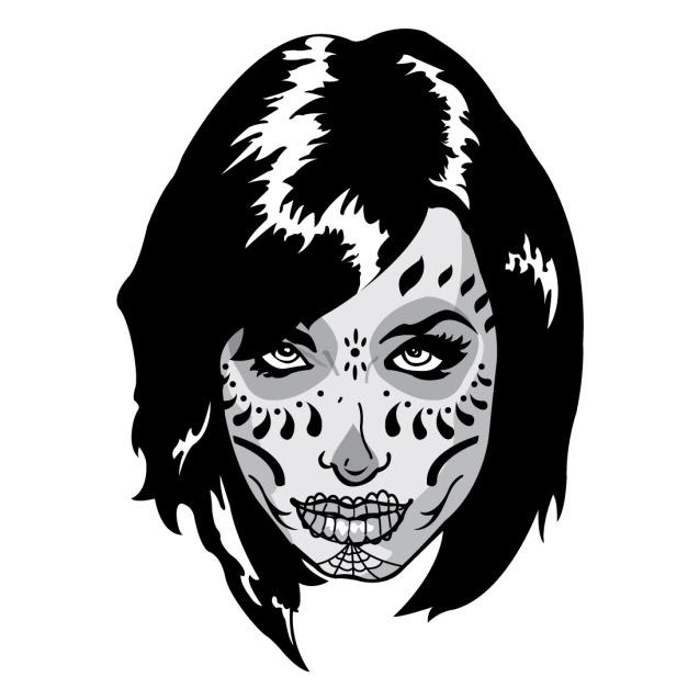 Sugar Skull Face female Kristen
